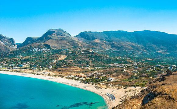 plakias beach Crete