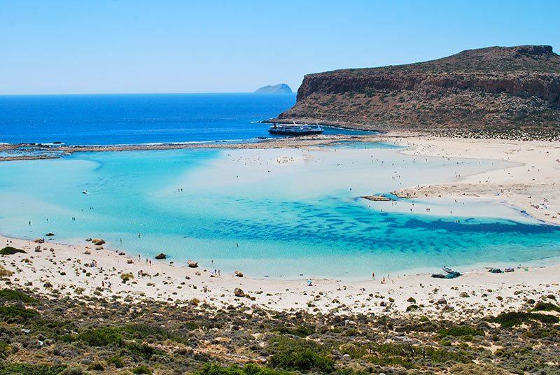 balos lagoon in crete- must see holiday destination