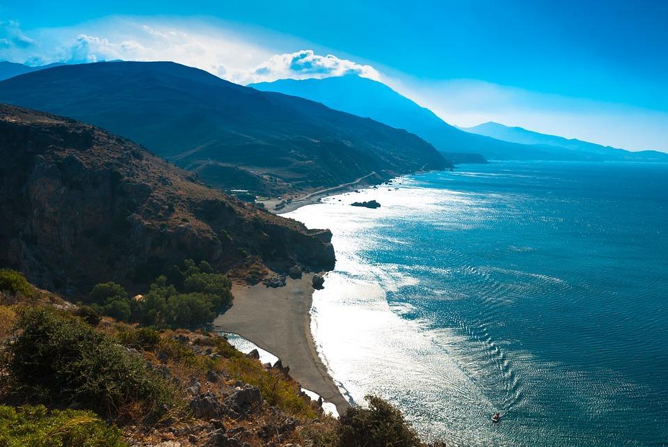 Preveli , Crete - Preveli beach