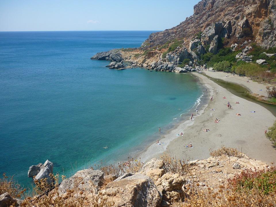 Preveli Crete- Preveli beach