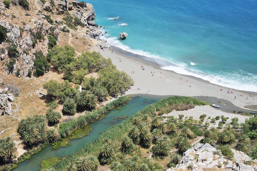 Preveli Crete - Beach villas-crete- preveli - preveli crete beach - History and Natural Beauty Meet at Preveli, Crete