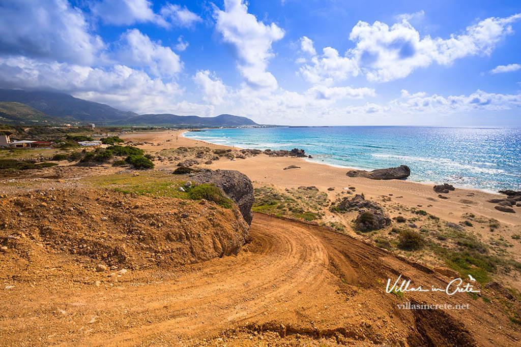 falassarna beach crete - villas in Crete