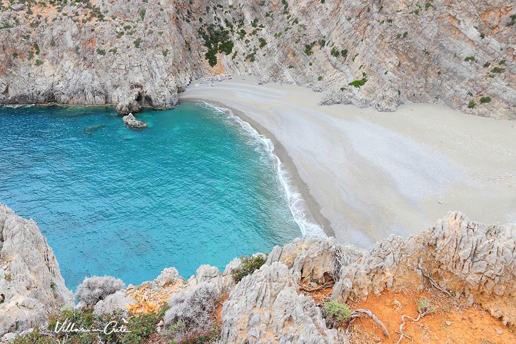 Agiofaraggo beach , Rethymon, Crete.