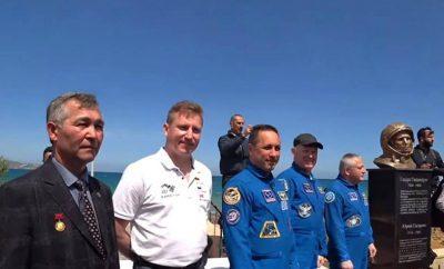 Yuri Gagarin`s Park inaugurated today in Heraklion, Crete