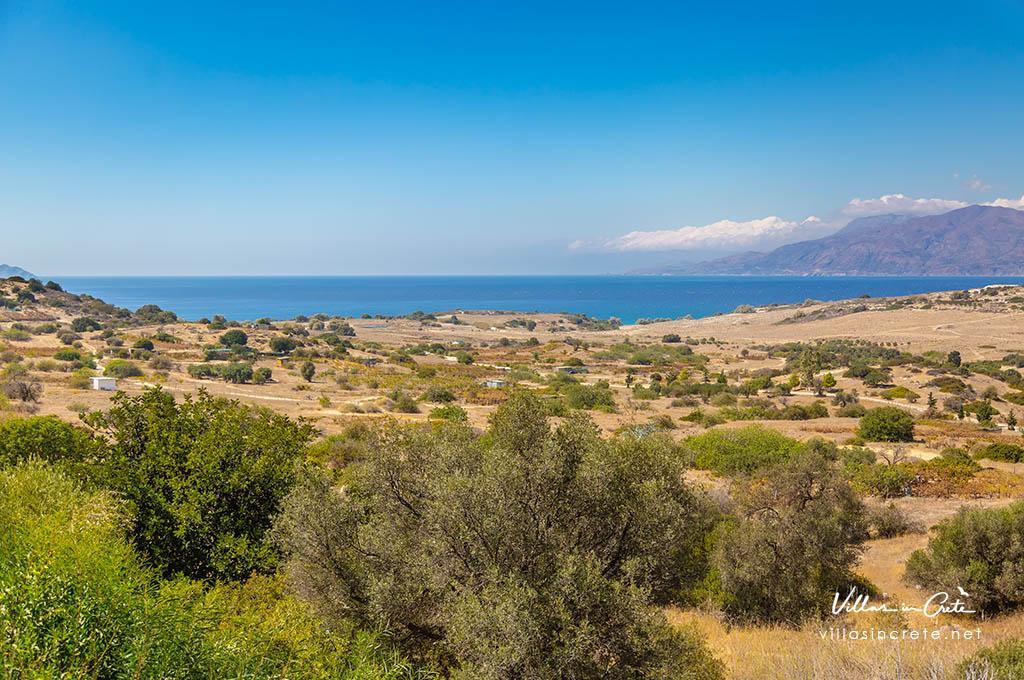 Around the villa of Pitsidia, Crete